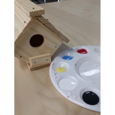 Fabrication d'une cabane pour oiseaux